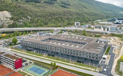 Fabrikationshalle mit Bürogebäude Georg Fischer AG