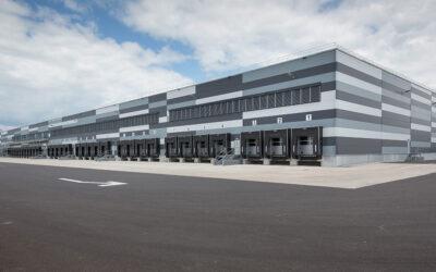 Lidl Warenverteilzentrum mit Verwaltungsgebäude
