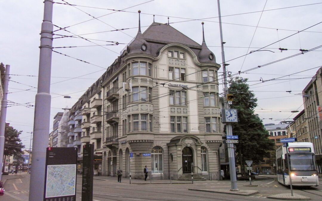 Umbau Bankgebäude Crédit Suisse