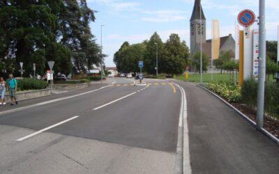 Fussgängerschutzinsel Bahnhofstrasse