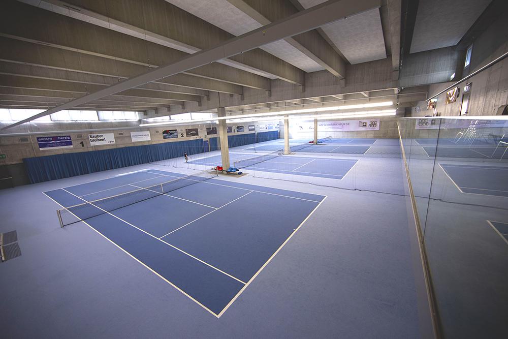 4-fach Tennishalle
