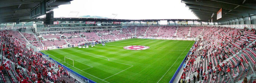 Shopping Arena und Stadion Kybunpark